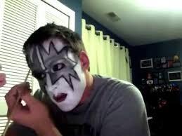kiss gene simmons make up tutorial