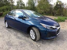 pacific blue metallic chevrolet cruze