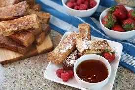 homemade french toast sticks recipe