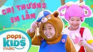 Mầm Chồi Lá - Chị Thương Em Lắm | Nhạc thiếu nhi hay cho bé | Vietnamese  Kids Song - YouTube