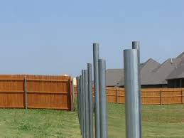Installing Fence Posts Let Us At A Better Fence Construction Do It For You
