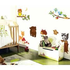 Animal Wall Decals For Baby Room Nz Canada Nursery Forest Art Fairy Uk Woodland Rainforest Vamosrayos