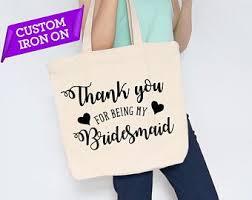 Tote Bag Iron On Etsy