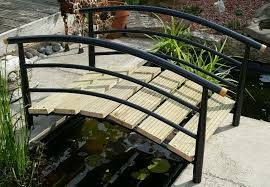 fish pond foot bridge ornamental