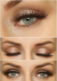 natural makeup looks for blue eyes