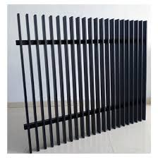 China Design Vertical Powder Coated Diy Slats Picket Fence Outdoor Decorative Aluminum Metal Garden 3d Blade Radiator China Fence Fence Panel