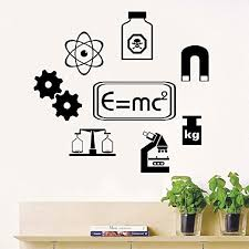 Amazon Com Quote Vinyl Wall Decal Sticker Art Removable Words Home Decor Science Vinyl Wall Art Sticker School Learning Chemistry Formula Wall Decals Bedroom Decor Laboratory Diy Wallpaper Home Kitchen