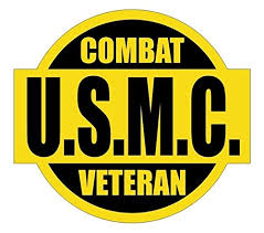 1 Pcs Unblemished Popular Usmc Combat Veteran Car Stickers Sign Armed Forces Persian Badge Hard Hat Vinyl Size 2 X 2 1 4 Color Black Yellow Buy Online In El Salvador Gvgs Shop
