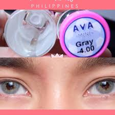Mini Ava Gray -1.50 Contact Lens, Women's Fashion, Accessories on Carousell