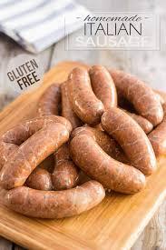 gluten free homemade italian sausage