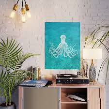 nautical decor octopus in the clear