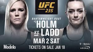 Holly Holm срещу Aspen Ladd на UFC 235 — MMA.BG