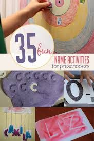 35 fun name activities perfect for