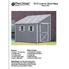 nanda plans for storage sheds lean to