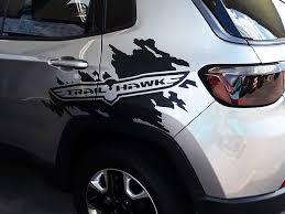 Product Jeep Renegade Cherokee Compass Trail Hawk Side Splash Splatter Logo Graphic Vinyl Decal