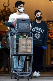 Demi Lovato and Boyfriend Max Ehrich Go Grocery Shopping with ...