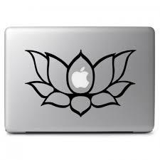 Namaste Flower Apple Macbook Air Pro 13 15 17 Vinyl Decal Sticker Dreamy Jumpers