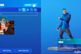 ninja is getting a fortnite skin the