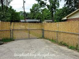 Frugal Ain T Cheap Chain Link Fence Project Chain Link Fence Chain Link Fence Panels Black Chain Link Fence