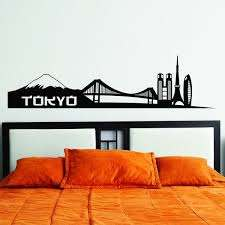 Shop Style Apply Tokyo City Skyline Wall Decal Sticker Overstock 11916738