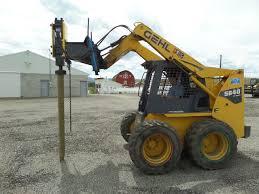 Fence Hydraulic Hammer Post Driver Yantai Junheng
