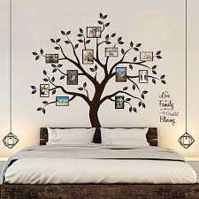 Amazon Com Timber Artbox Beautiful Family Tree Wall Decal With Quote The Only Decor You Need For Living Room Bedroom Arts Crafts Sewing