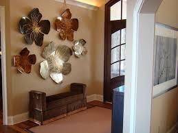 bronze lotus flower metal wall art
