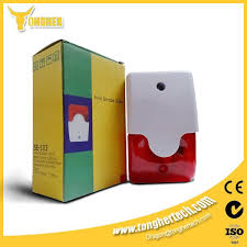 Good Quality Light Siren For Electric Fence Alarm Electric Fence Perimeter Security Electricity