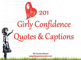 girly confidence quotes captions