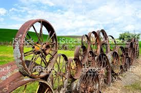 Wagon Wheel Fence Washingtonusa Stock Photo Download Image Now Istock