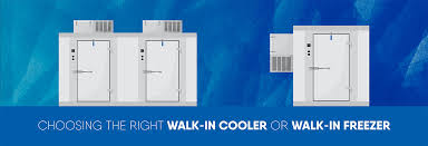 walk in cooler or walk in freezer