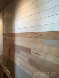 new wall cover idea d i y shiplap