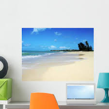 Antigua Beach Caribbean Paradise Wall Decal Wallmonkeys Com