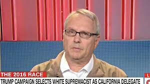 Video: White Nationalist Trump Fan William Johnson on CNN