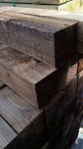 75mm X 75mm 3in X 3in Tanalised Brown Gate Fence Post Oakdale Fencing