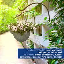 7penn Outdoor Hanging Baskets Hanging Basket For Hanging Plants Hanging Flowers Hanging Plant Holder 2pk In