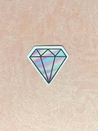 Rainbow Pastel Diamond Sticker 1 1 2 By 1 1 2 Inches For Etsy Pastel Rainbow Fun Stickers Classy Decorations