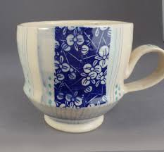 Handmade Pottery Decal Mug Pottery Mugs Handmade Ceramics Decal Paper