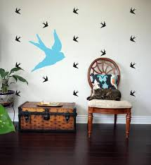 Sparrow Bird Wall Decal 25 Wall Decal Birds Sailor Jerry Etsy