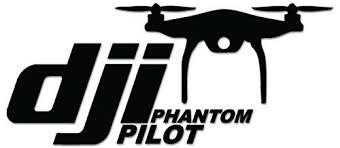 Dji Pilot Drone Vinyl Decal Sticker For Vehicle Car Truck Window Vinyl Decal Stickers Pilot Vinyl Decals