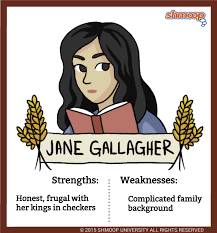 jane gallagher in the catcher in the rye shmoop