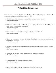 albert einstein quotes compiled by aneek gupta