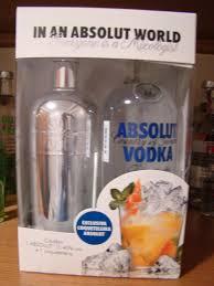 absolut vodka forum mixologist gift set