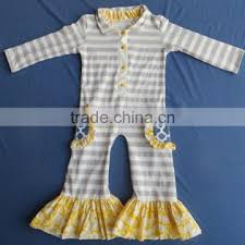 dyj 130 fancy baby ruffle rompers with