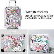 Cute Vsco Stickers For Hydro Flask 50 Pack 100 Vinyl Unicorn Sticker Aesthetic Water Bottles Stickers Skateboard Hydroflask Stickers Laptop Computer Stickers Hydro Flask Stickers Vsco For Teen Girls Home Sports Fitness