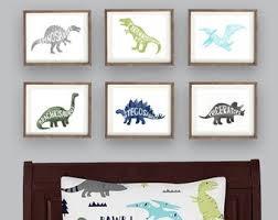 Dinosaur Decor Etsy