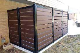 How To Build A Horizontal Slat Fence The Easy Way