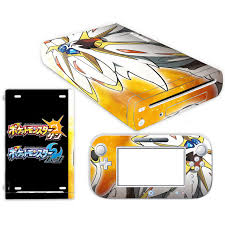Pokemon Go Pikachu Skin Sticker For Nintendo Wii U Console Cover With Remotes Controller Skins For Nintend Wii U Sticker Consoleskins Co
