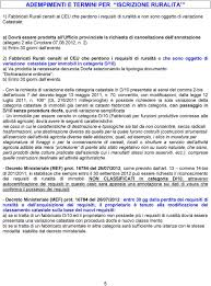 REQUISITI DI RURALITÀ - PDF Free Download