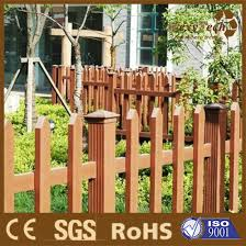 China Composite Wood Garden Simple Picket Fence China Garden Fence And Picket Fence Price